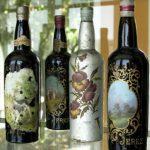 Museo de etiquetas antiguas de vino